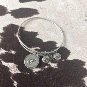 S charm bracelet